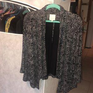 Sejour 2x soft knit blazer